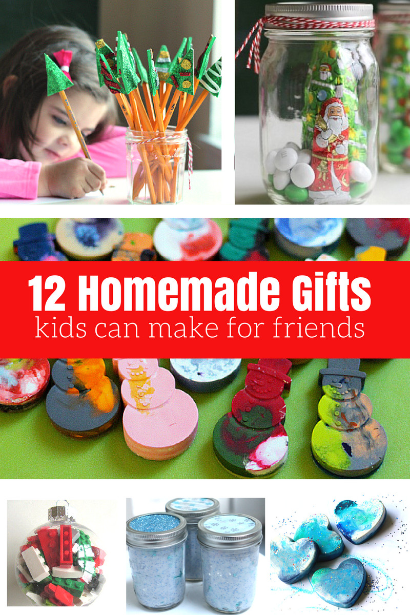 Gift Ideas For Children  12 Homemade Gifts Kids Can Help Make For Friends and