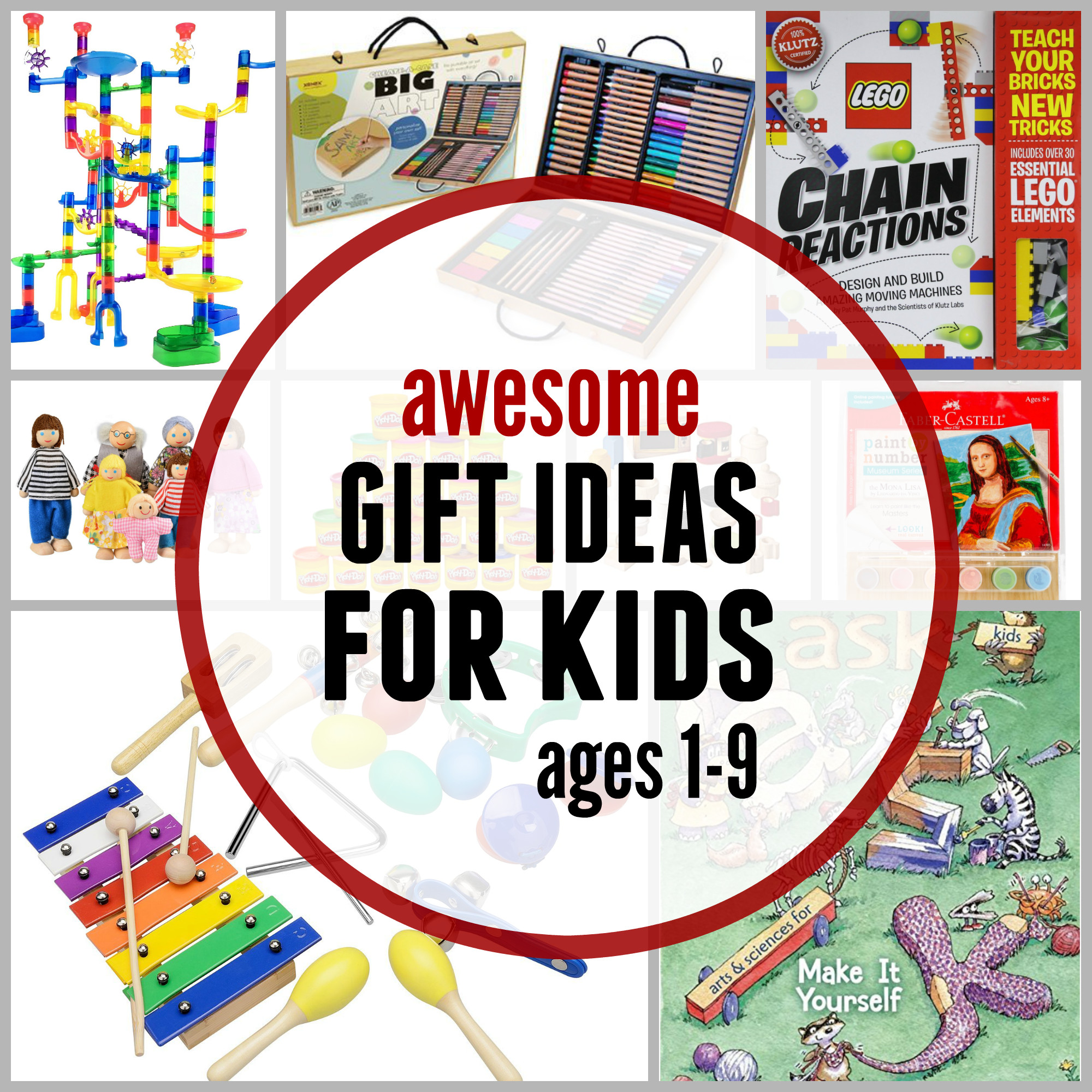 Gift Ideas For Children  35 Awesome t ideas for kids The Measured Mom
