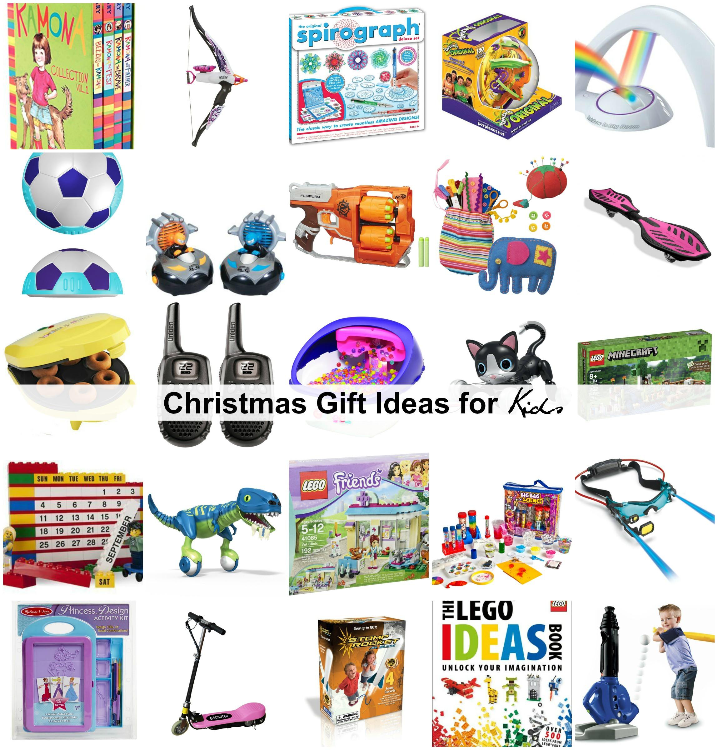 Gift Ideas For Children  Christmas Gift Ideas for Kids The Idea Room