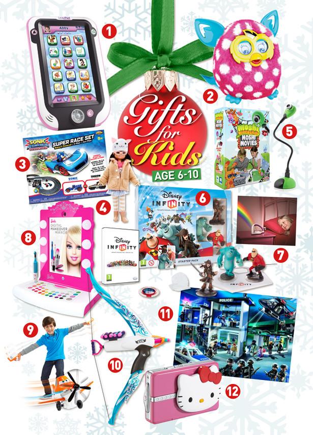 Gift Ideas For Children  Christmas t ideas for kids age 6 10 Adele Jennings