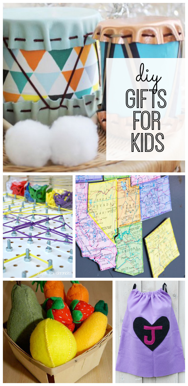 Gift Ideas For Children  DIY Gifts for Kids My Life and Kids