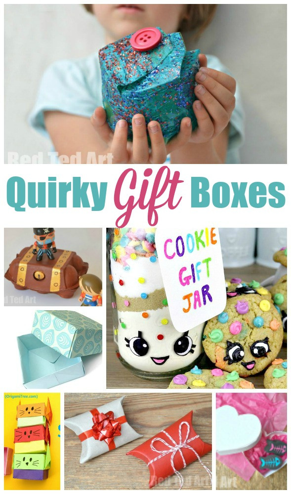 Gift Ideas For Children  Over 15 Quirky Gift Box ideas for kids to make and enjoy