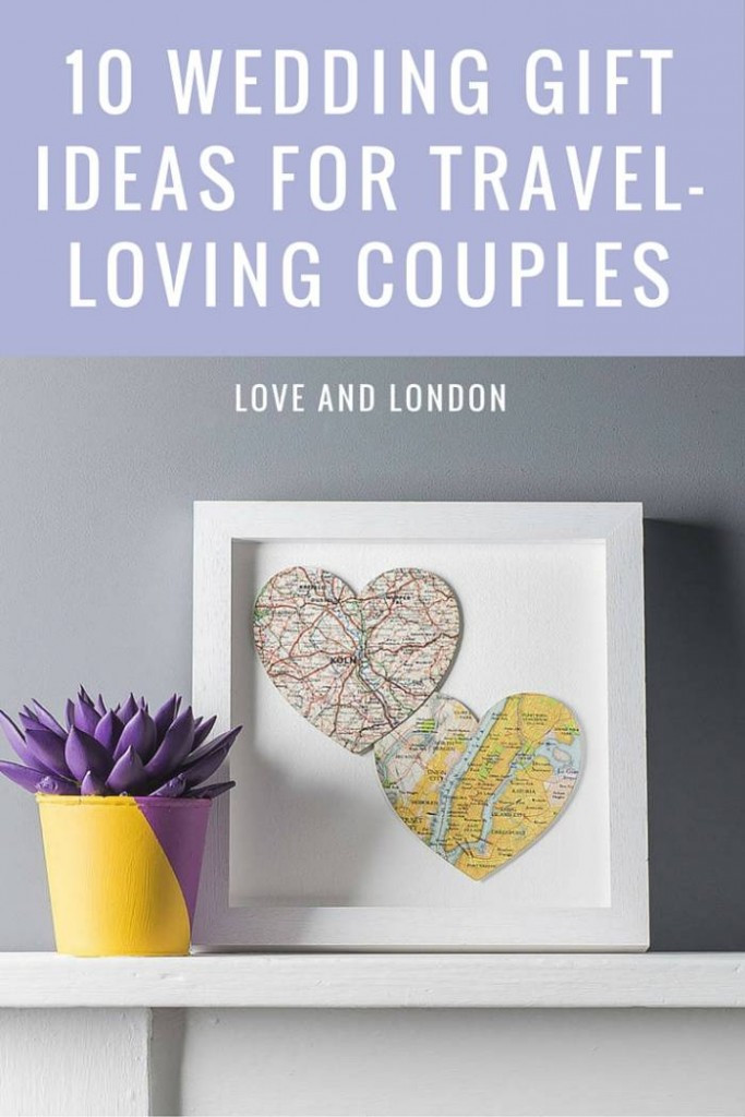 Gift Ideas For Older Couple Getting Married  10 Wedding Gift Ideas for Your Favourite Travel Loving