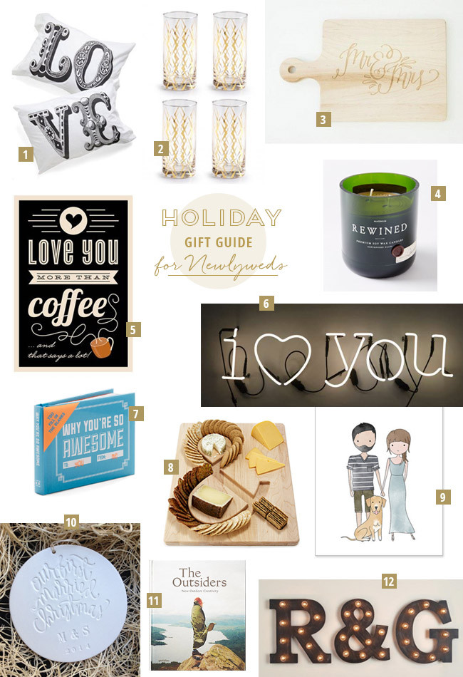 Gift Ideas For Older Couple Getting Married  Gift Guide for the Newlyweds