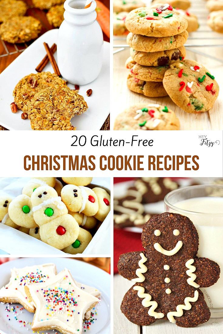 Gluten Free Holiday Cookie Recipes  20 Gluten Free Christmas Cookie Recipes Hey Fitzy