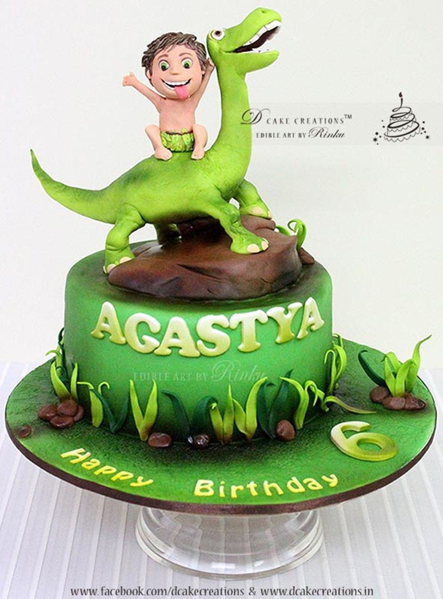 Good Birthday Cakes  Good Dinosaur Cake CakeCentral