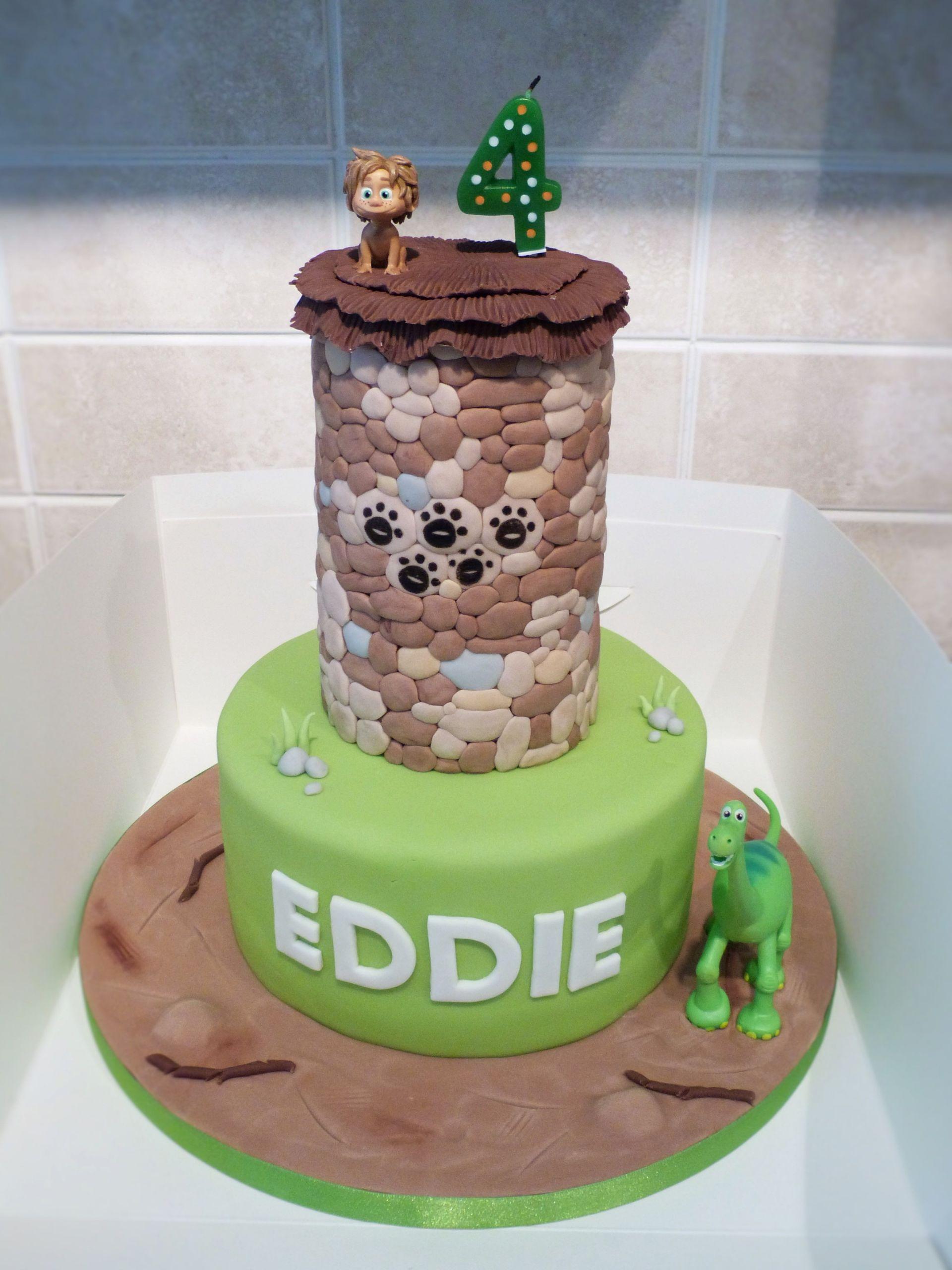 Good Birthday Cakes  The Good Dinosaur cake