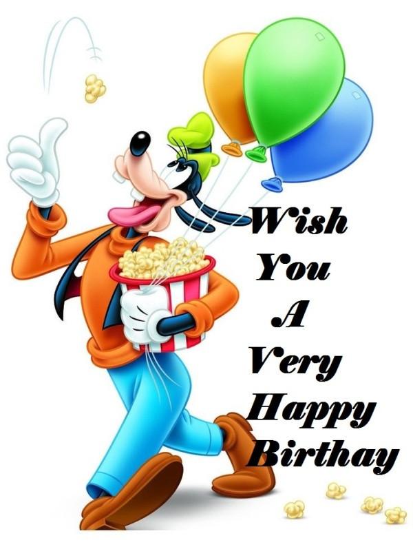 Goofy Birthday Wishes  30 Cartoons Birthday Wishes