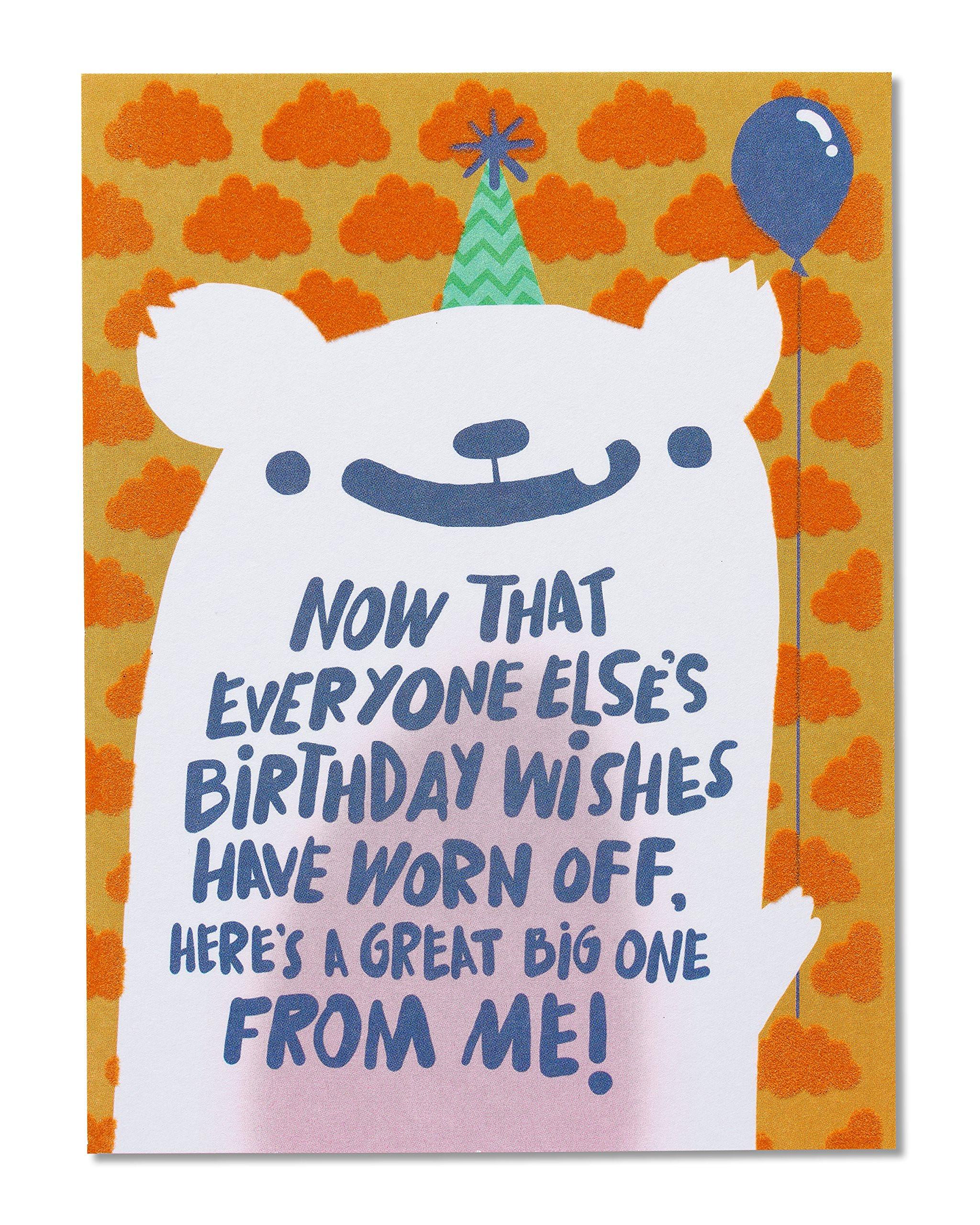 Goofy Birthday Wishes  Amazon Me For Your Birthday Belated Birthday Card