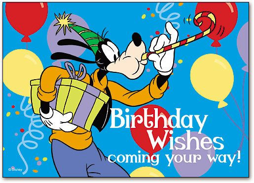 Goofy Birthday Wishes  Pin by Terisma Schoch on Birthday
