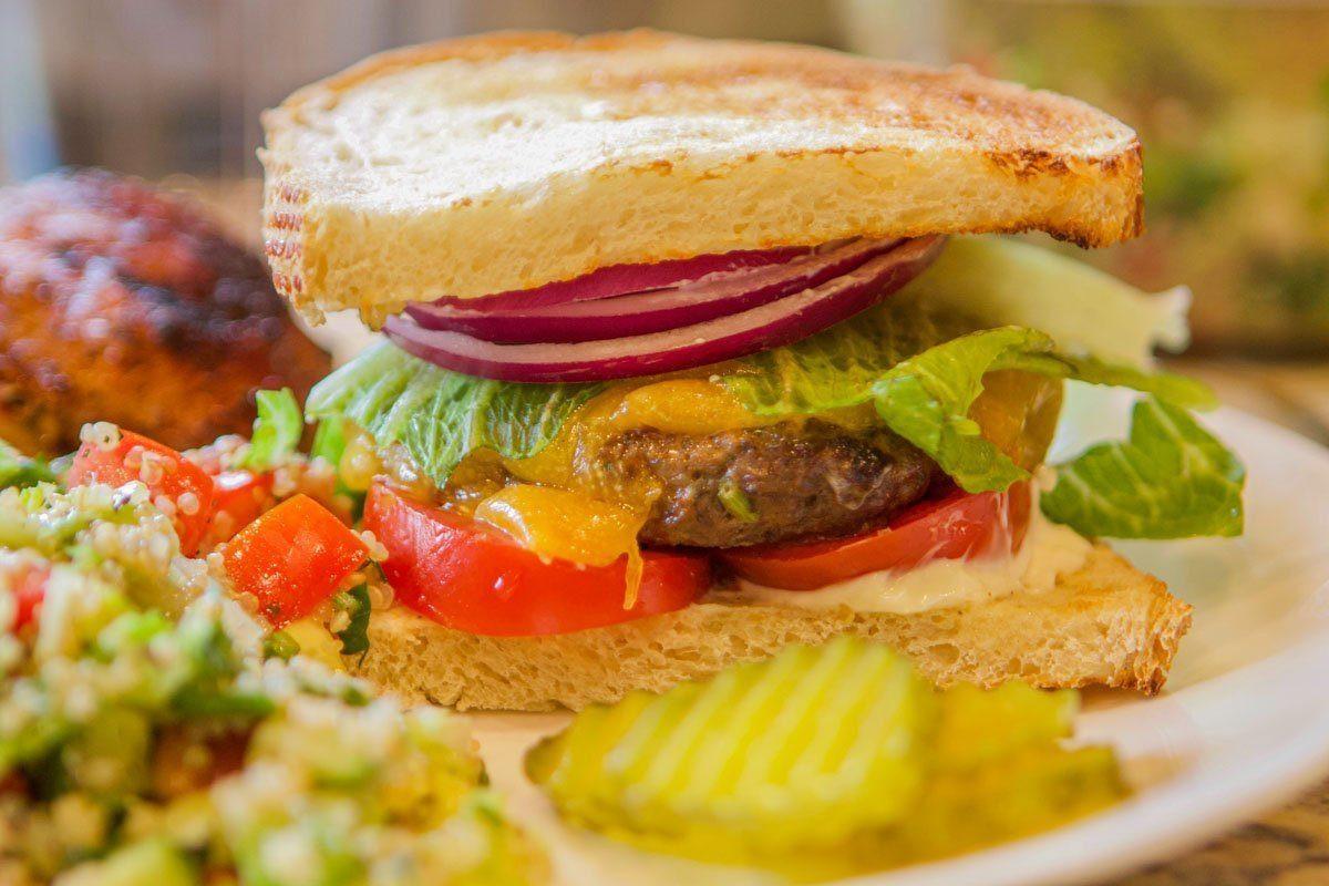 Gourmet Elk Burger Recipes  Gourmet Elk Burger Recipe Grilled