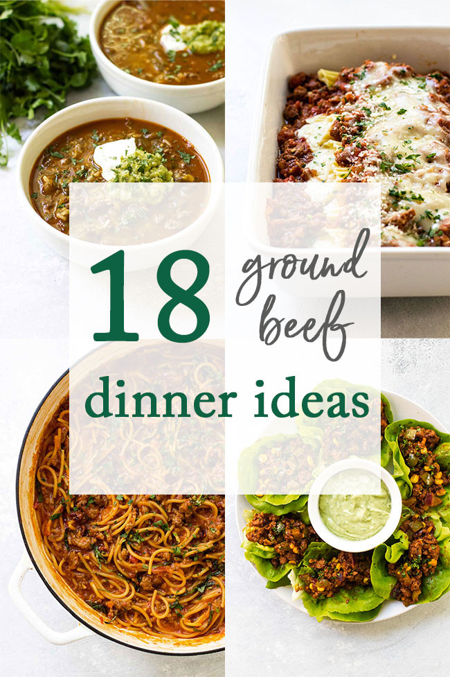 Gourmet Ground Beef Recipes  18 Ground Beef Recipes to Make for Dinner