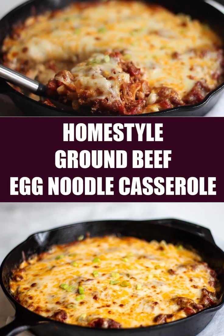 Gourmet Ground Beef Recipes  Homestyle Ground Beef Casserole Recipe