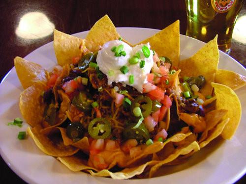 Gourmet Nachos Recipe  Caribbean Nachos Recipe — Dishmaps