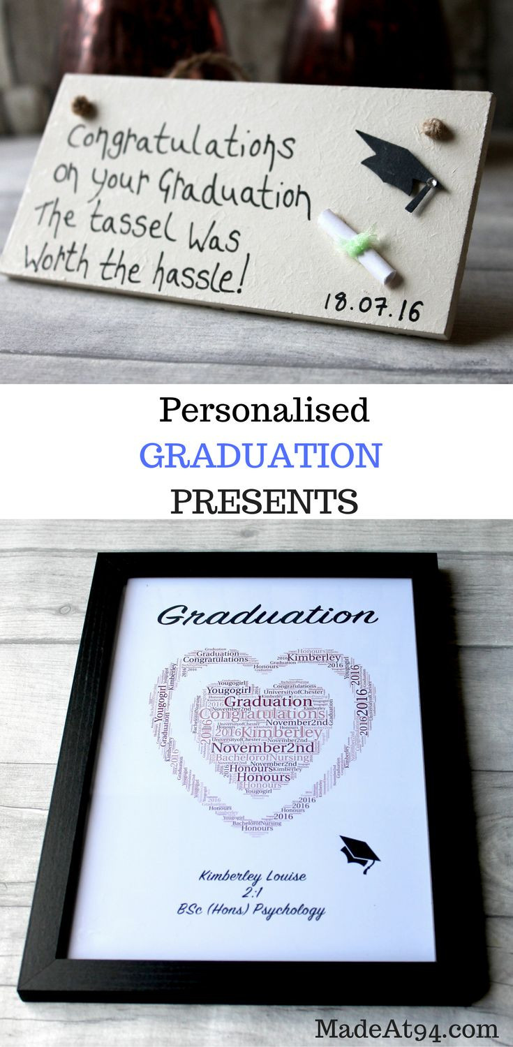 Graduation Gift Ideas For Wife  Personalised Graduation Gifts
