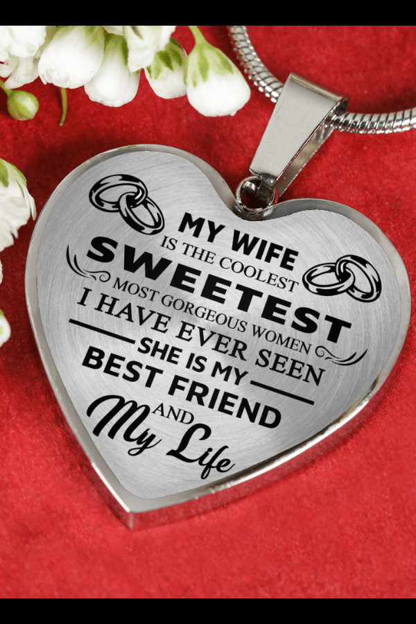 Graduation Gift Ideas For Wife  My Wife Gorgeous From Husband Luxury Necklace Birthday