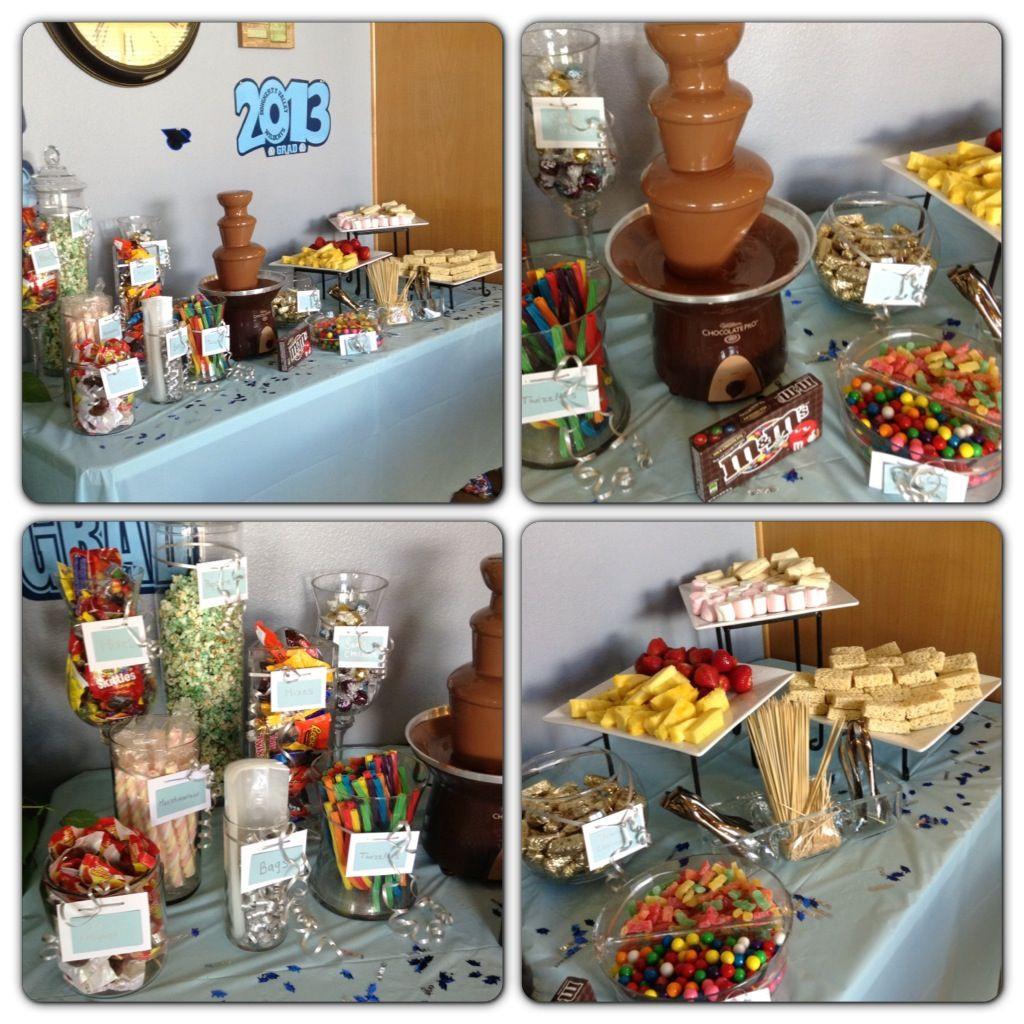 Graduation Party Candy Ideas  2013 Graduation Candy Buffet Candy Bar
