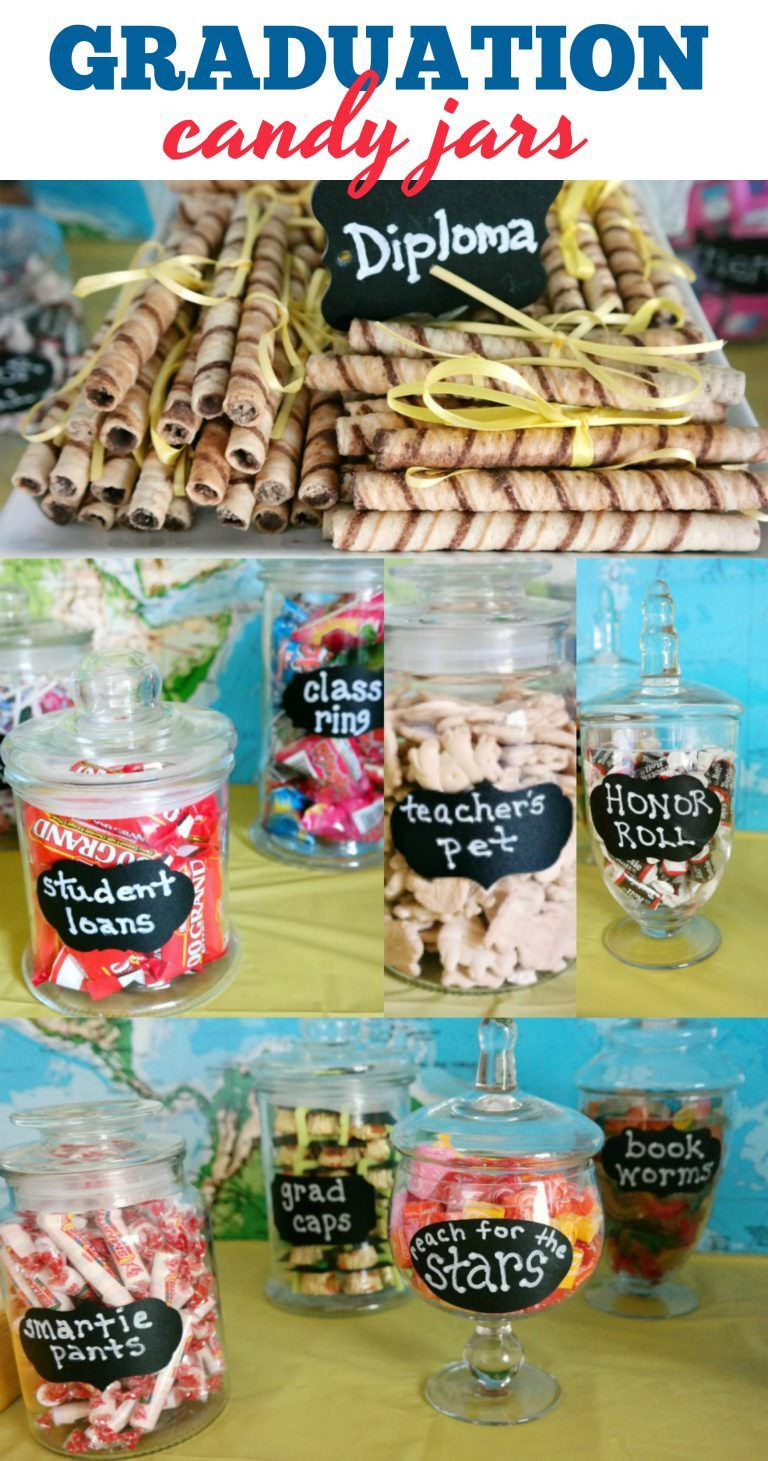 Graduation Party Candy Ideas  So many fun candy ideas for Graduation Parties Diploma