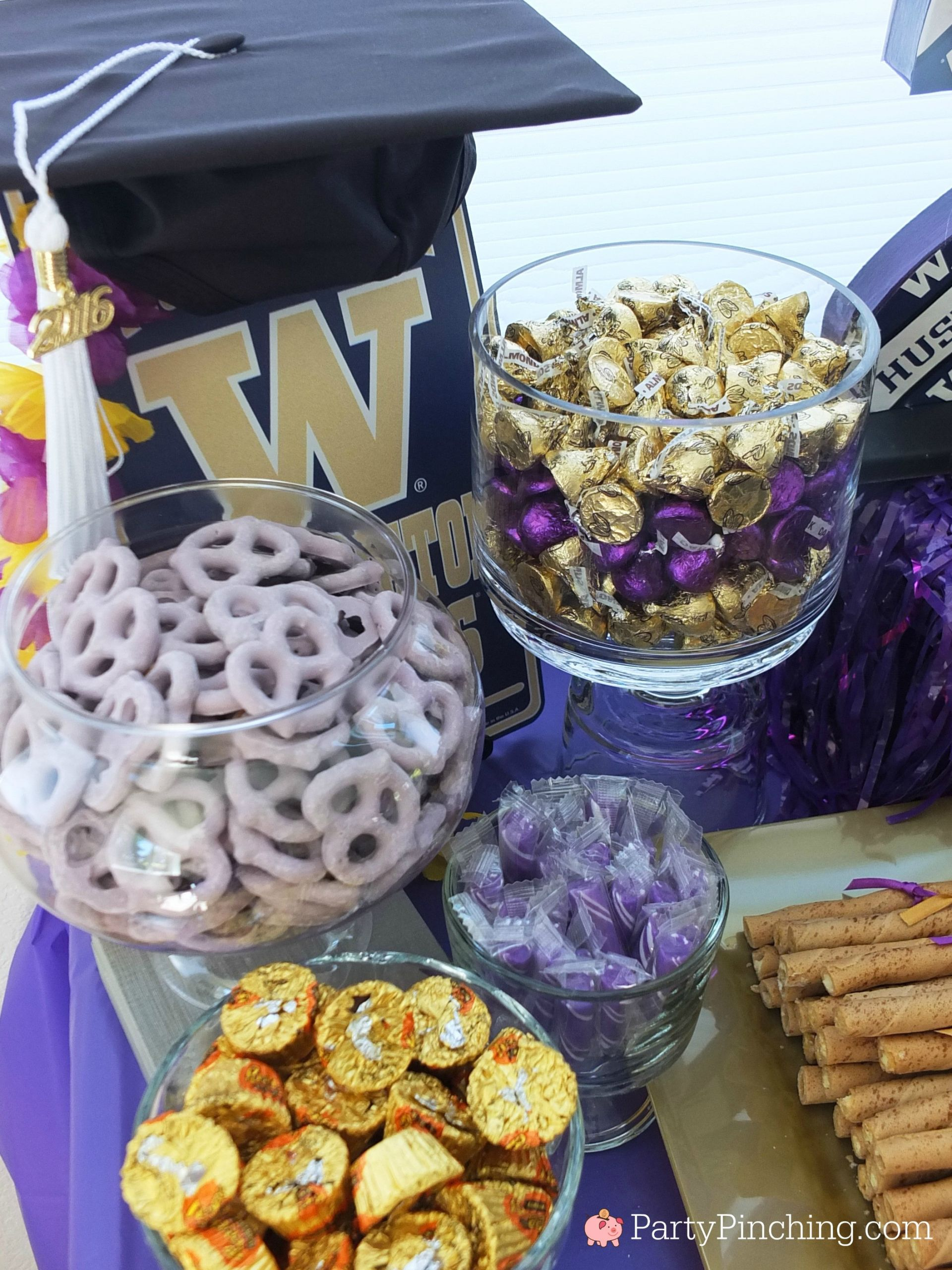 Graduation Party Candy Ideas  College Graduation Party Graduation Party Ideas 2020