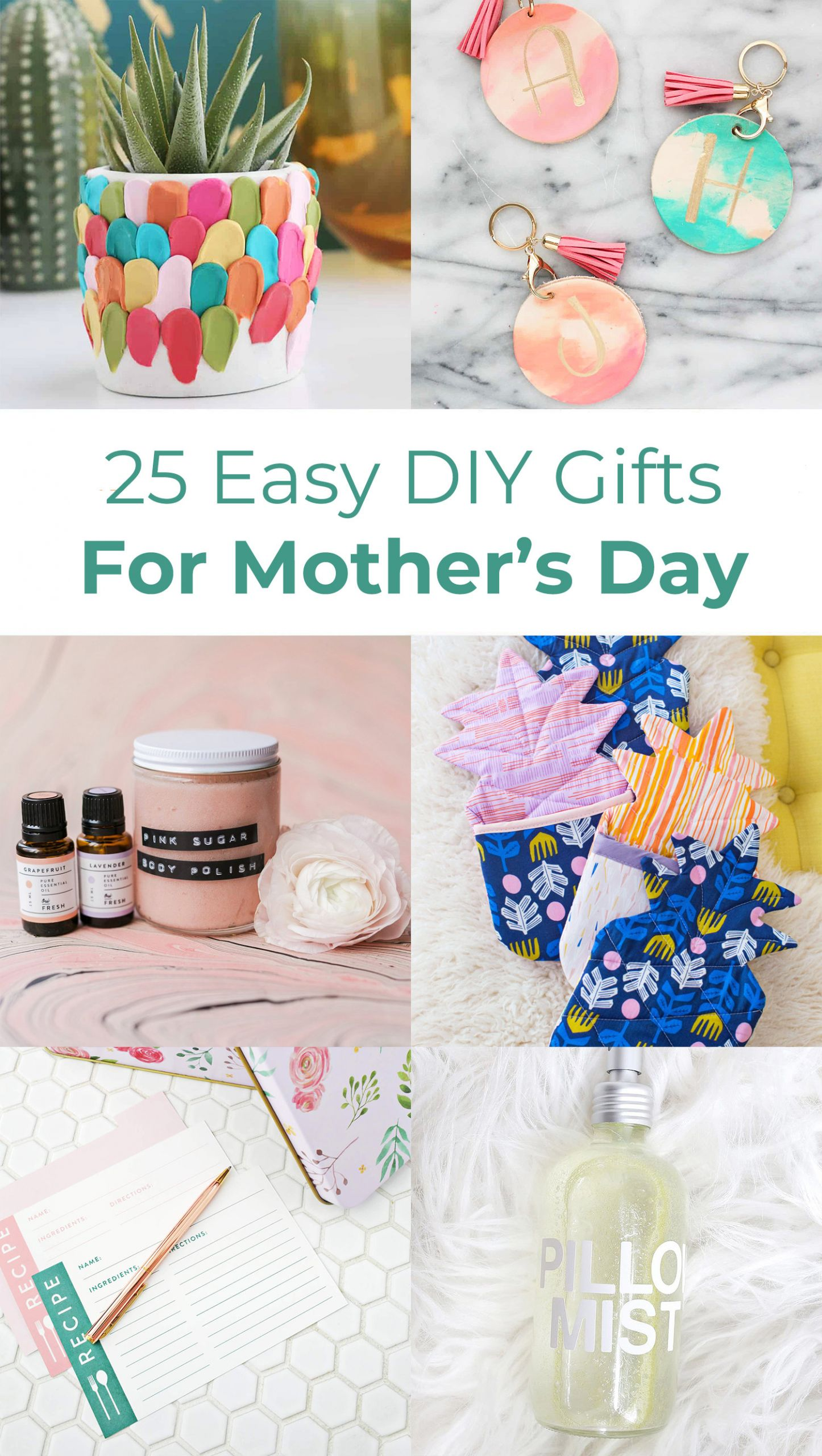 Great Mothers Day Gift Ideas  25 Easy DIY Gift Ideas For Mother s Day A Beautiful Mess