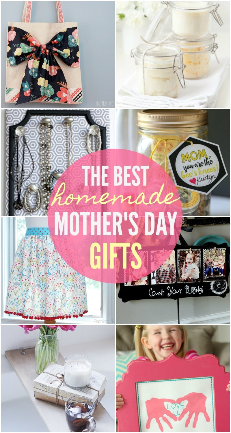 Great Mothers Day Gift Ideas  BEST Homemade Mothers Day Gifts so many great ideas