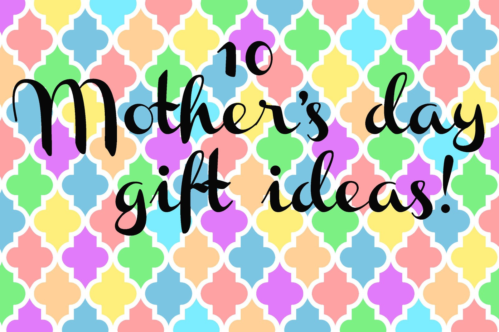 Great Mothers Day Gift Ideas  Doodlecraft 10 Great Mother s Day Gift Ideas