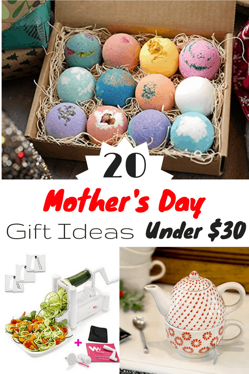 Great Mothers Day Gift Ideas  Top 20 Mother's Day Gift Ideas Under $30 Slick Housewives