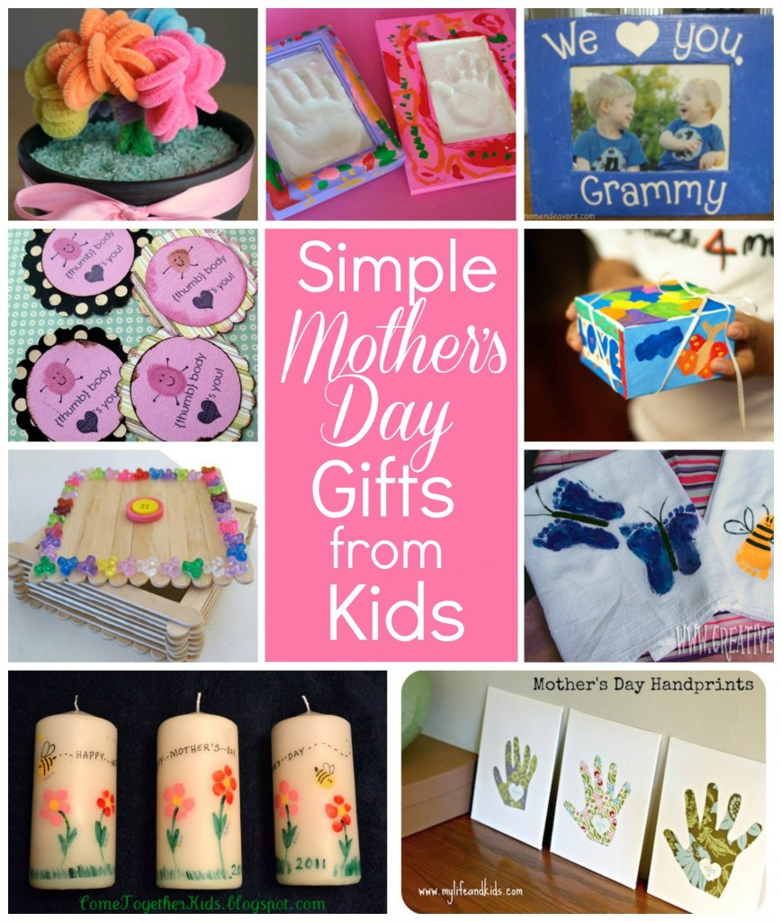 Great Mothers Day Gift Ideas  Simple Mother's Day t ideas for grandma Flower pot