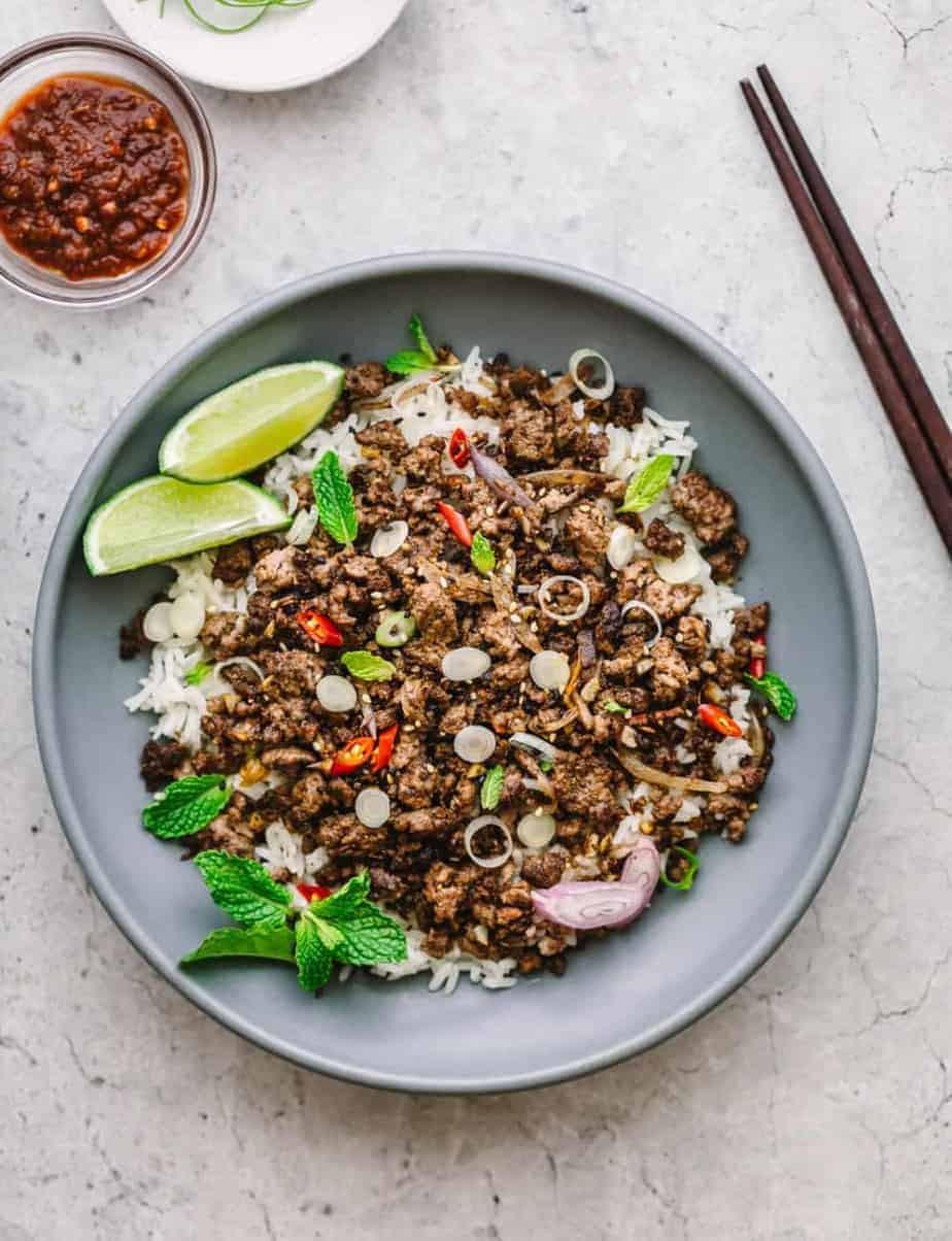 Ground Beef Stir Fry Recipes  Asian Ground Beef Stir Fry – Posh Journal