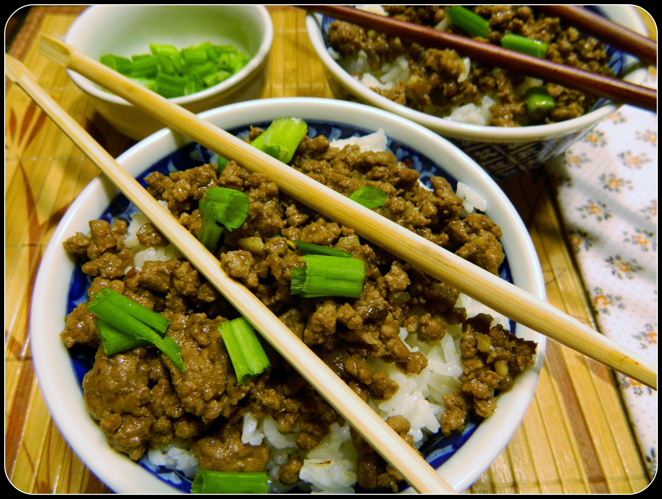 Ground Beef Stir Fry Recipes  Ground Beef Stir Fry Over Rice