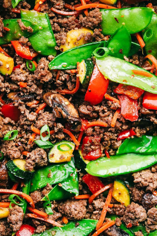 Ground Beef Stir Fry Recipes  Korean Ground Beef Stir Fry