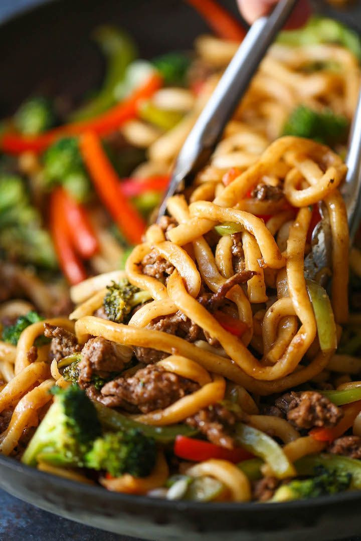 Ground Beef Stir Fry Recipes  Ground Beef Noodle Stir Fry Recipe