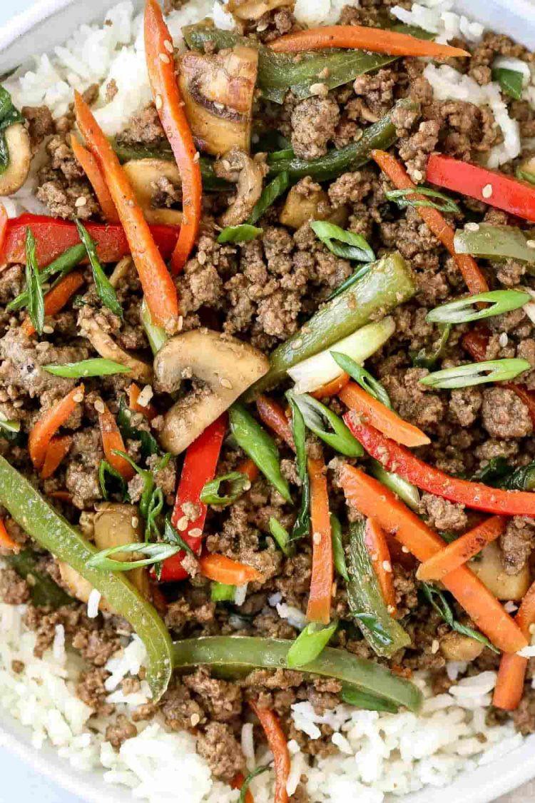 Ground Beef Stir Fry Recipes  Ground Beef Stir Fry Valentina s Corner