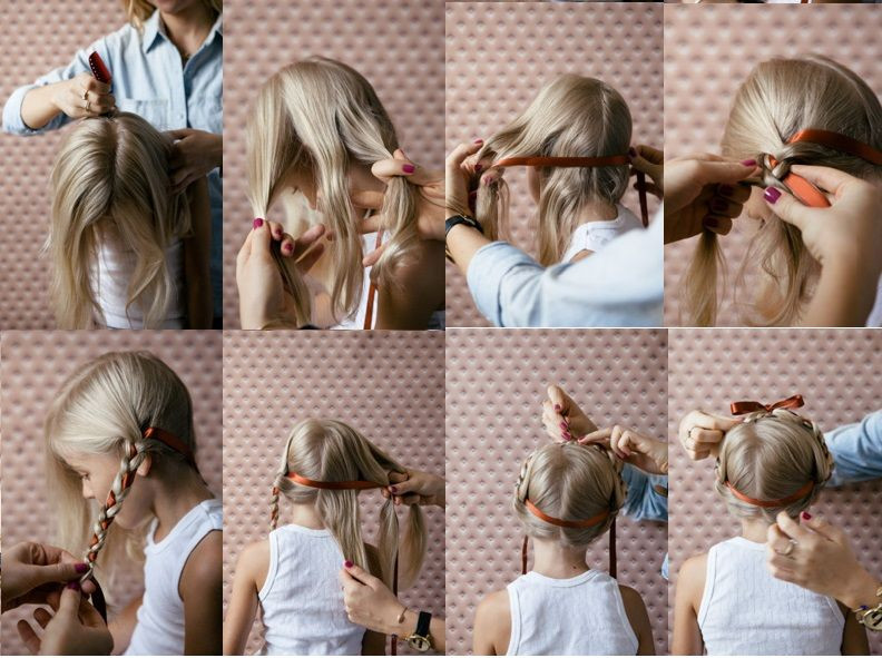 Hairstyle For Little Girl Step By Step  15 s of the Easy Hairstyle For Girls Step By Step To