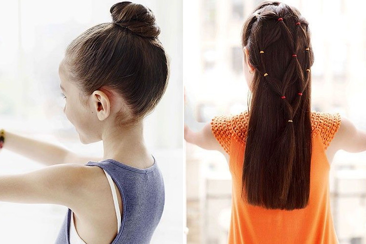 Hairstyle For Little Girl Step By Step  8 Super Easy Hairstyles For Girls Step By Step