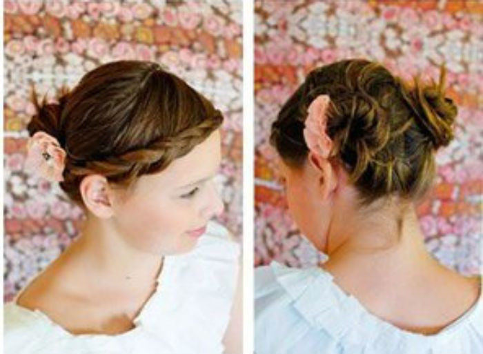 Hairstyle For Little Girl Step By Step  17 Best images about step by step hairstyles on Pinterest