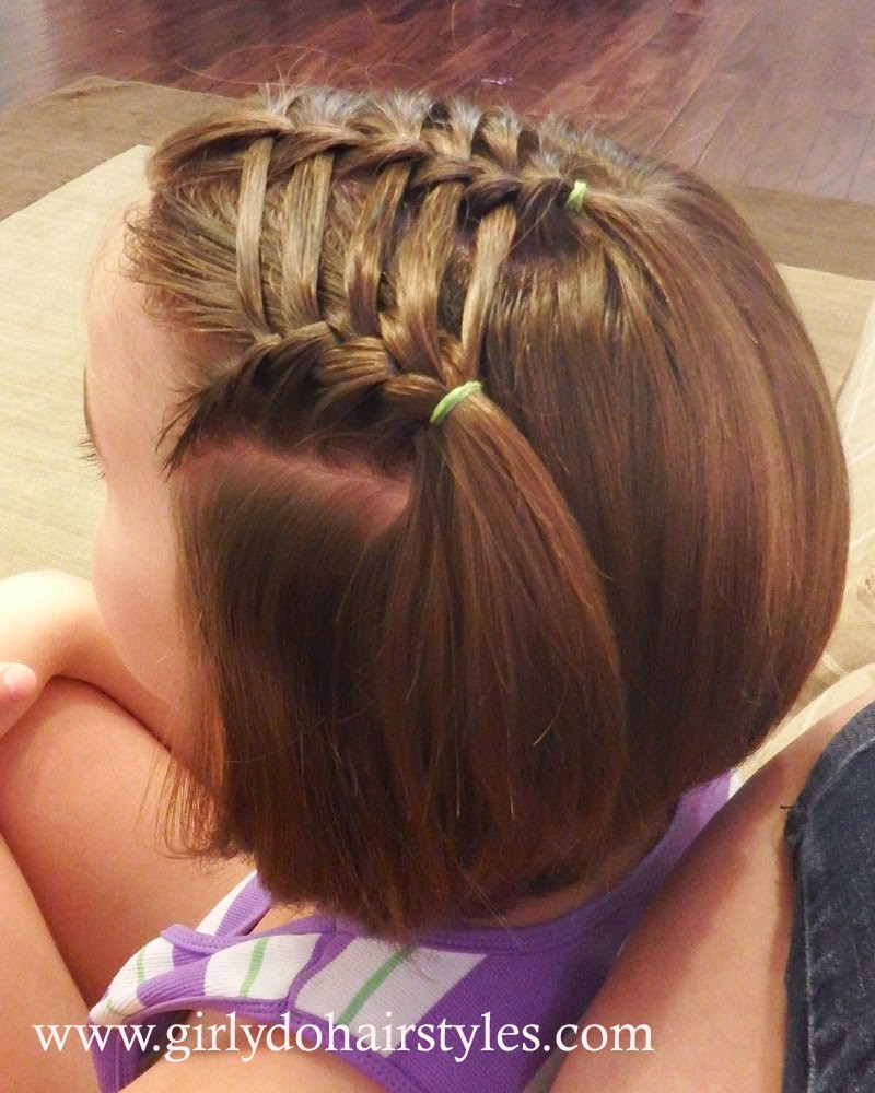 Hairstyle For Little Girl Step By Step  25 Little Girl Hairstyles you can do YOURSELF