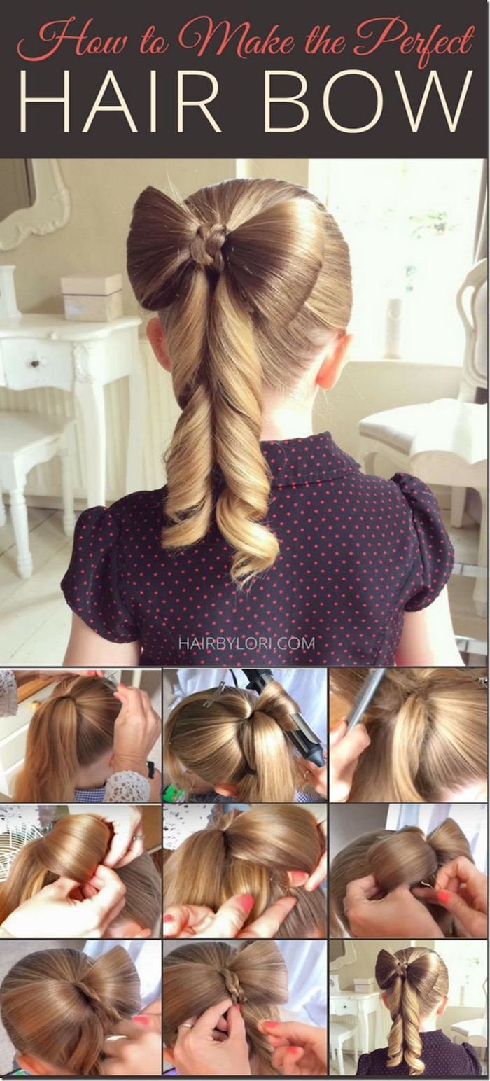 Hairstyle For Little Girl Step By Step  1001 ideas for beautiful and easy little girl hairstyles