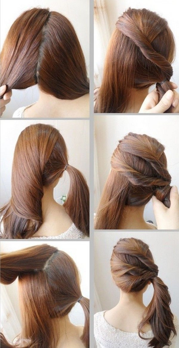 Hairstyle For Little Girl Step By Step  cute and easy hairstyles for school step by step Google