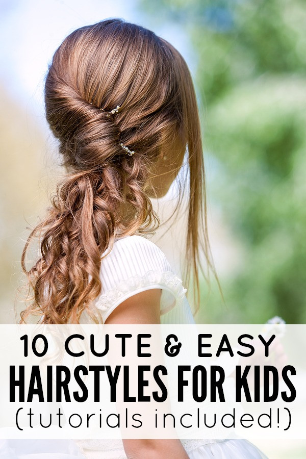 Hairstyle For Little Girl Step By Step  10 cute and easy hairstyles for kids