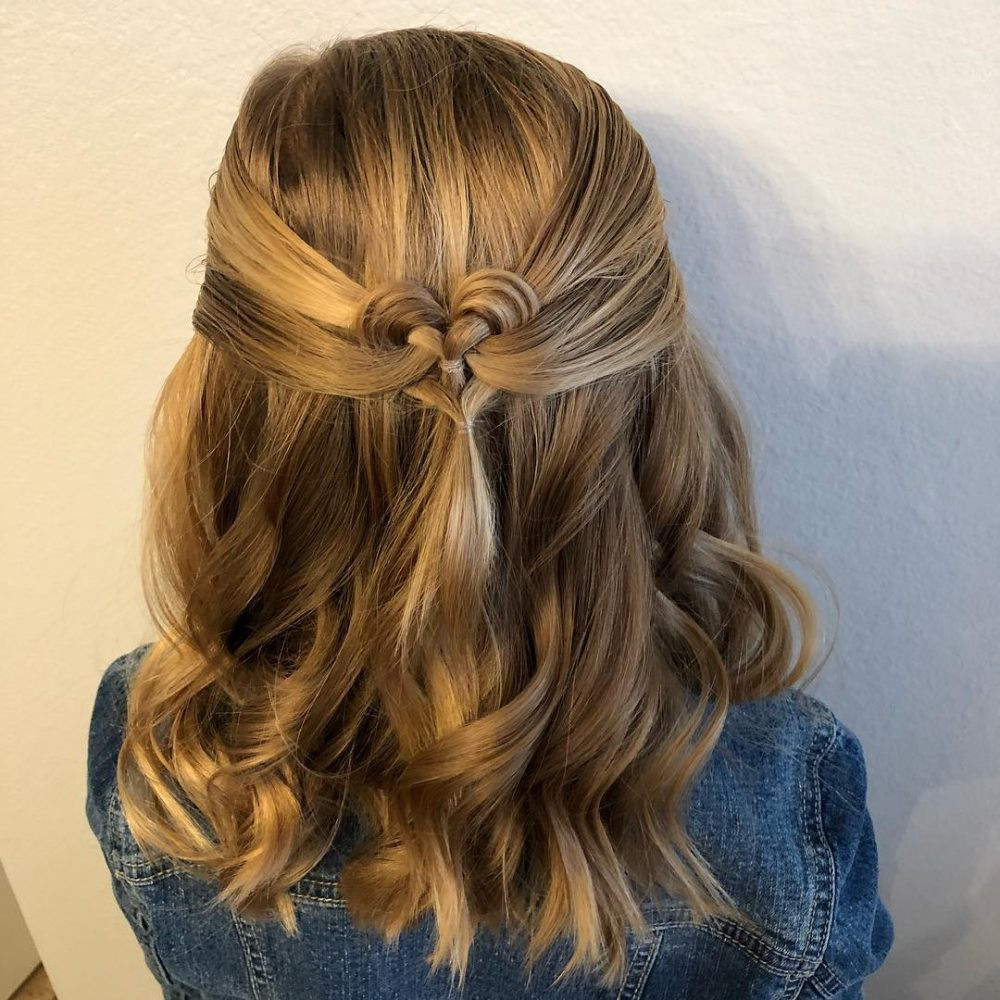 Hairstyles For Little Girl  8 Cool Hairstyles For Little Girls That Won t Take Too