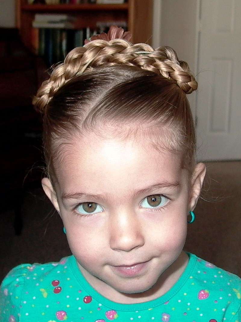 Hairstyles For Little Girl  Small Girls Hair Style