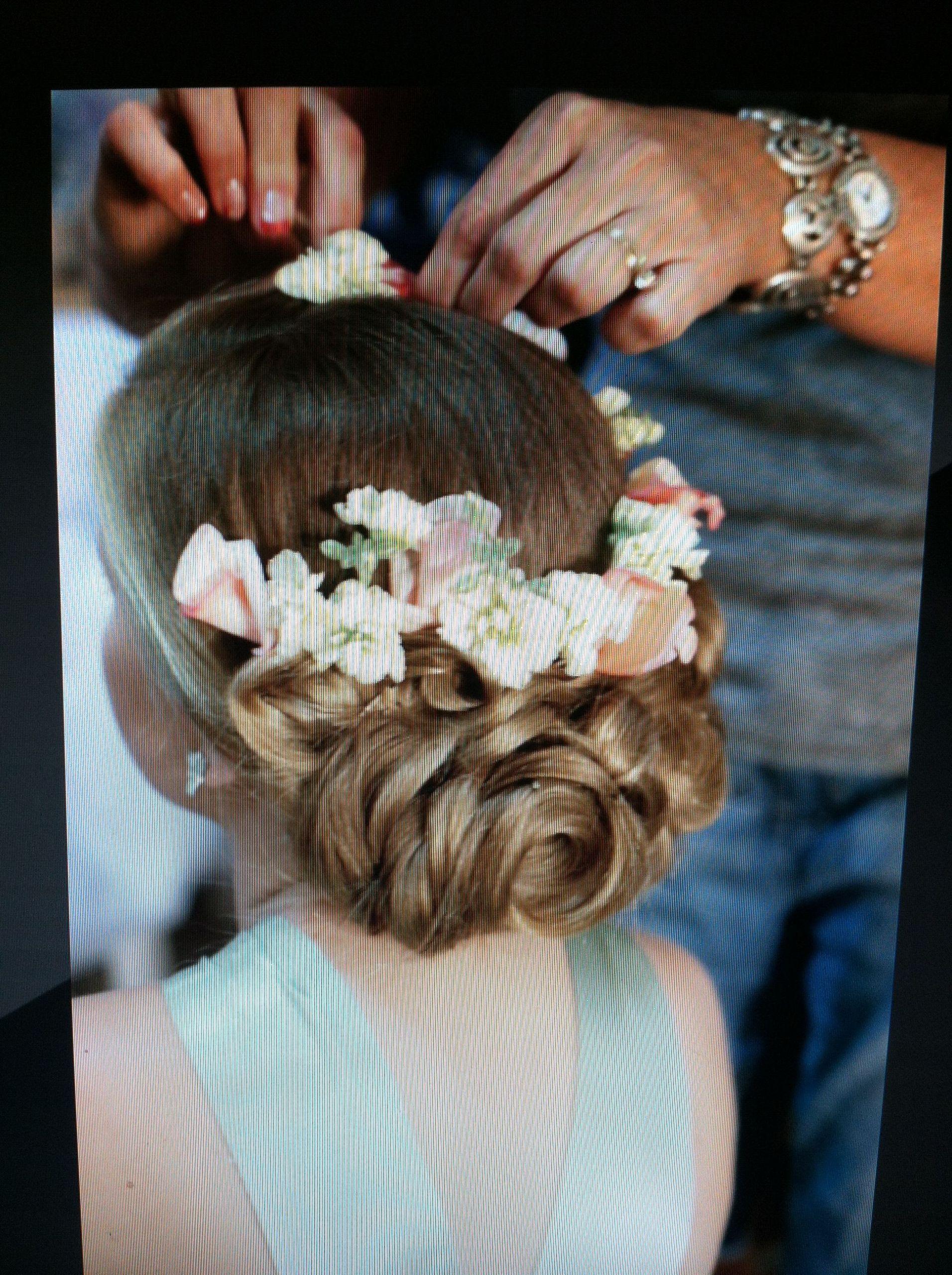 Hairstyles For Little Girls For Weddings  Livi s flower girl hair …