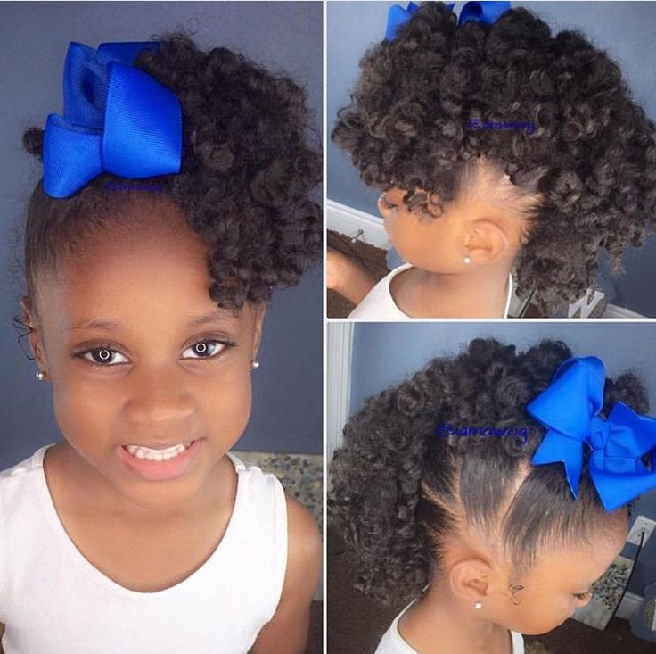 Hairstyles For Natural Little Girl  142 best Black kids hairstyles images on Pinterest