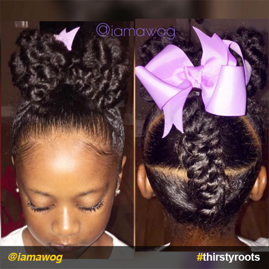 Hairstyles For Natural Little Girl  20 Cute Natural Hairstyles for Little Girls