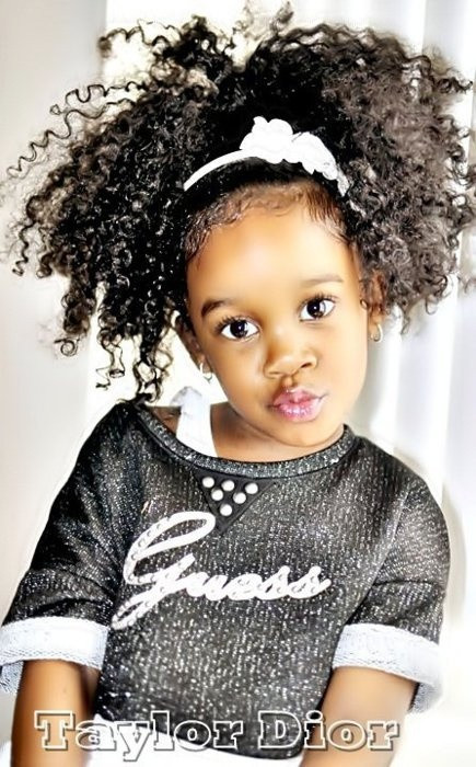 Hairstyles For Natural Little Girl  14 Cute and Lovely Hairstyles for Little Girls Pretty