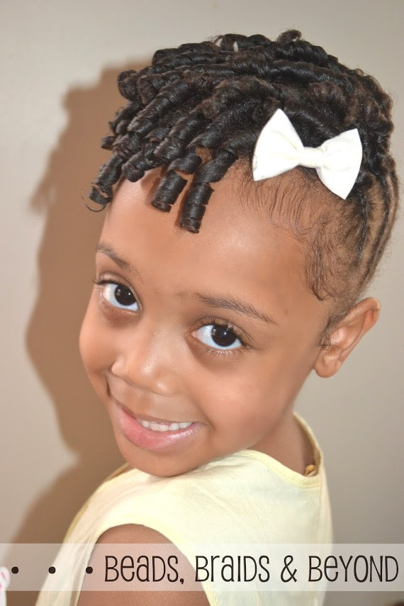Hairstyles For Natural Little Girl  Beads Braids and Beyond Easter Hairstyles for Little
