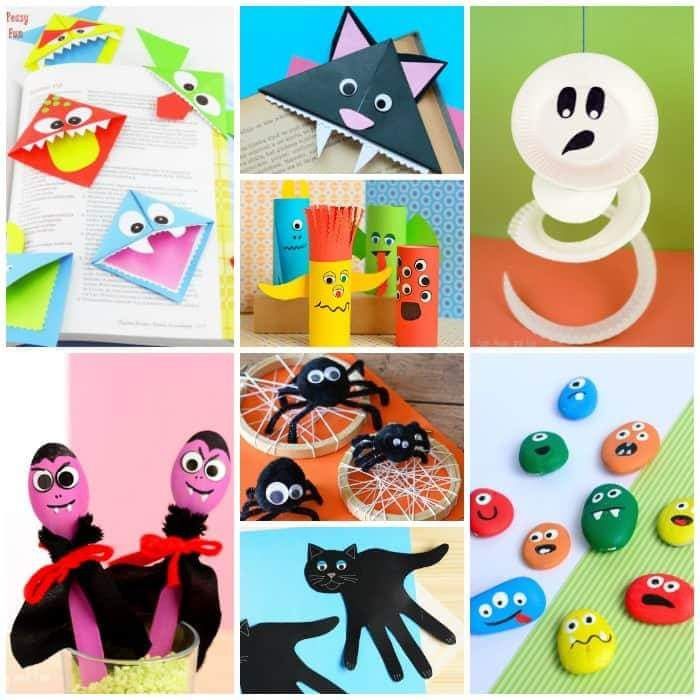 Halloween Craft Ideas Kids  40 Halloween Crafts for Kids that Are Sure Shot Winners of