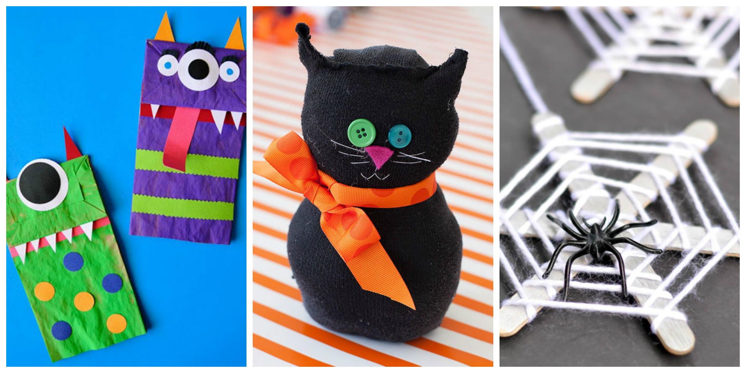 Halloween Craft Ideas Kids  26 Easy Halloween Crafts for Kids Best Family Halloween