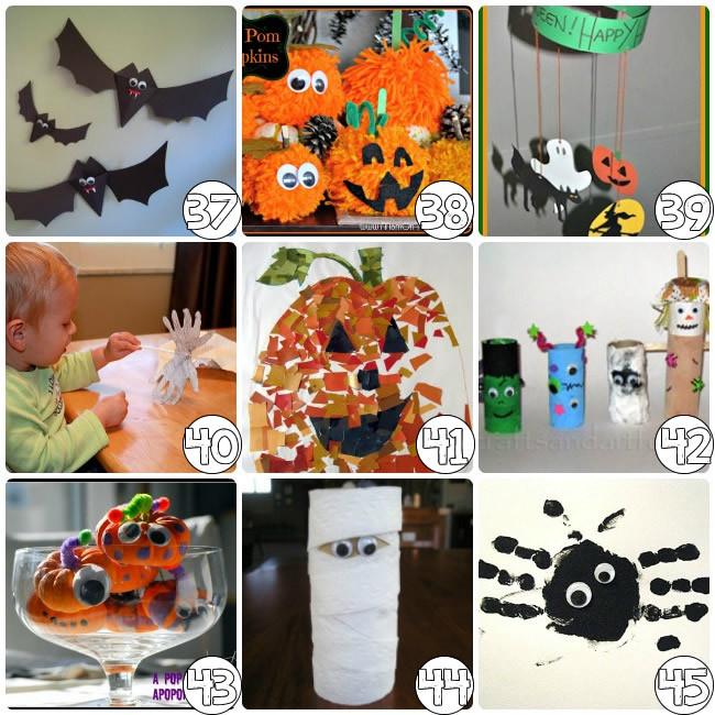Halloween Craft Ideas Kids  75 Halloween Craft Ideas for Kids